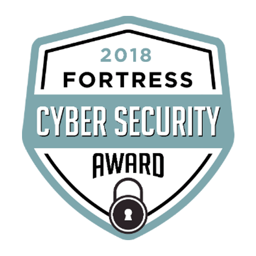 2018 Fortress CyberSecurity Award Winner