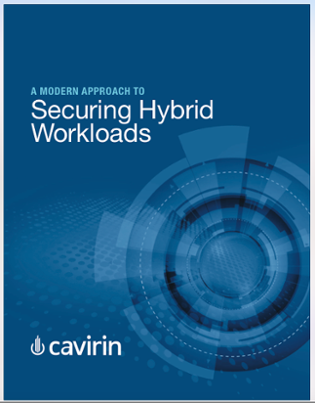 eBook = A Modern Approach to Securing Hybrid Workloads